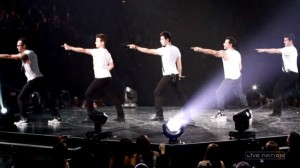"Image From NKOTB's ""Whisper"" Video"