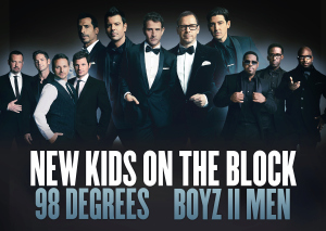 "New Kids On The Block, Boyz II Men And 98 Degrees, ""The Package Tour"""