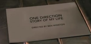 "Screen Shot From One Direction's ""Story Of My Life"" Music Video"