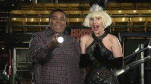 SNL's Kenan Thompson With Lady Gaga