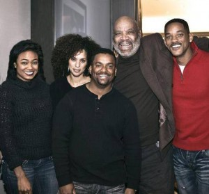 "The Last Picture of James Avery With The Kids Of ""The Fresh Prince Of Bel Air"""