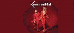 """Karmin """"I Wanti It All"""" Epic Records"""