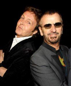 Paul McCartney And Ringi Starr