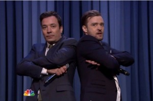 "Jimmy Fallon With Justin Timberlake on NBC's ""Tonight"" Show"
