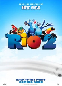 Rio 2 Movie Poster Blue Sky Studios/20th Century Fox Animation
