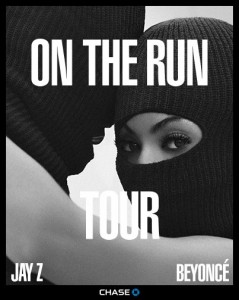"""On The Run"" Tour Promo Image"