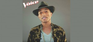 Pharrell Williams' Promotional Photo From NBC's The Voice