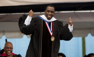 "Sean ""Diddy"" Combs At Howard University"