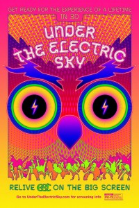 Under The Electric Sky Poster VIA Focus Features