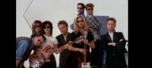 "Video Still From ""I'll Be There For You"" music video By The Rembrants VIA Eastwest Records"