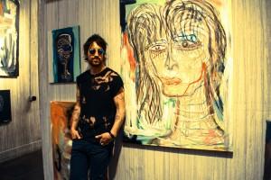 Joe with art