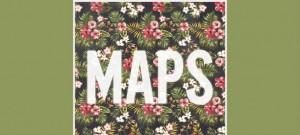 "Maroon 5 single art of ""Maps"" via Interscope Records"