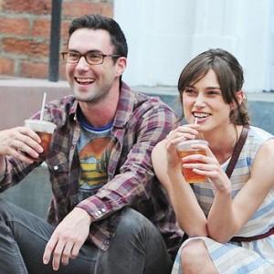 "Adam Levine and Keira Knightley From ""Begin Again"""