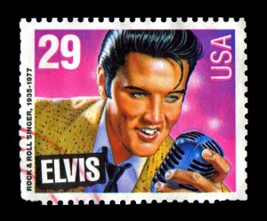 Elvis Presley commemorative postage stamp USA 1993