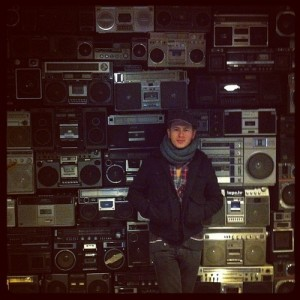 Jim Kroft stacked radios