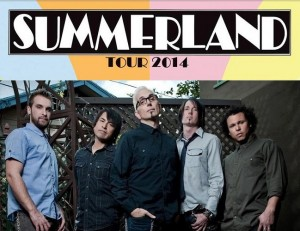 Summerland Tour 2014 banner