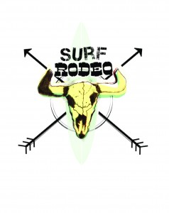 Surf-Rodeo Skull Logo