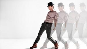 Sonny dancing silohette