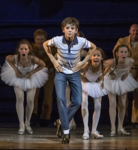 Billy Elliot as a kid