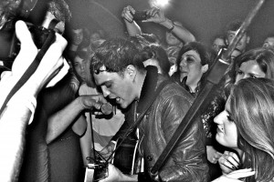 JOSH BEECH PERFORMING LIVE BLACK N WHITE
