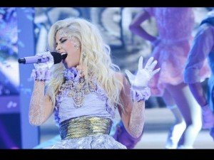 CeCe performing on X Factor