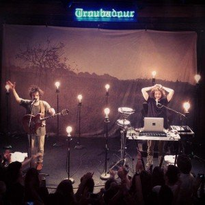 MILKY CHANCE AT TROUBADOUR