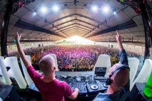 Dada Life LIVE PHOTO BEHIND DJ DECK