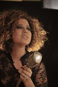 Mahalia Barnes vertical w mic