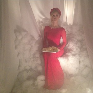 Lucid Dream Red Dress with fluffies.jpg