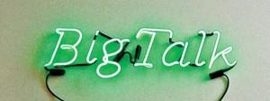 Big Talk Neon Sign
