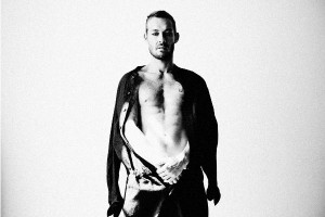 DANIEL JOHNS BLACK N WHITE STRIP DOWN