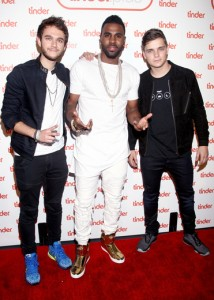Zedd Martin Garixx and Jason Derulo red carpet