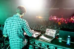 Zedd backstage