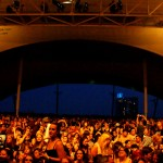 the crowd at Baltimore's Pier Six