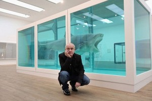 damien hirst shark tank