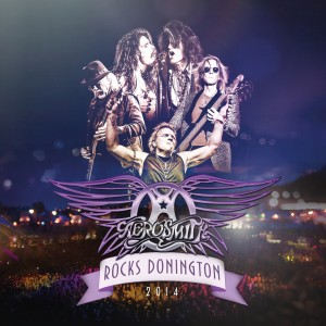 Aerosmith Donington DVD+CD cover (hr)