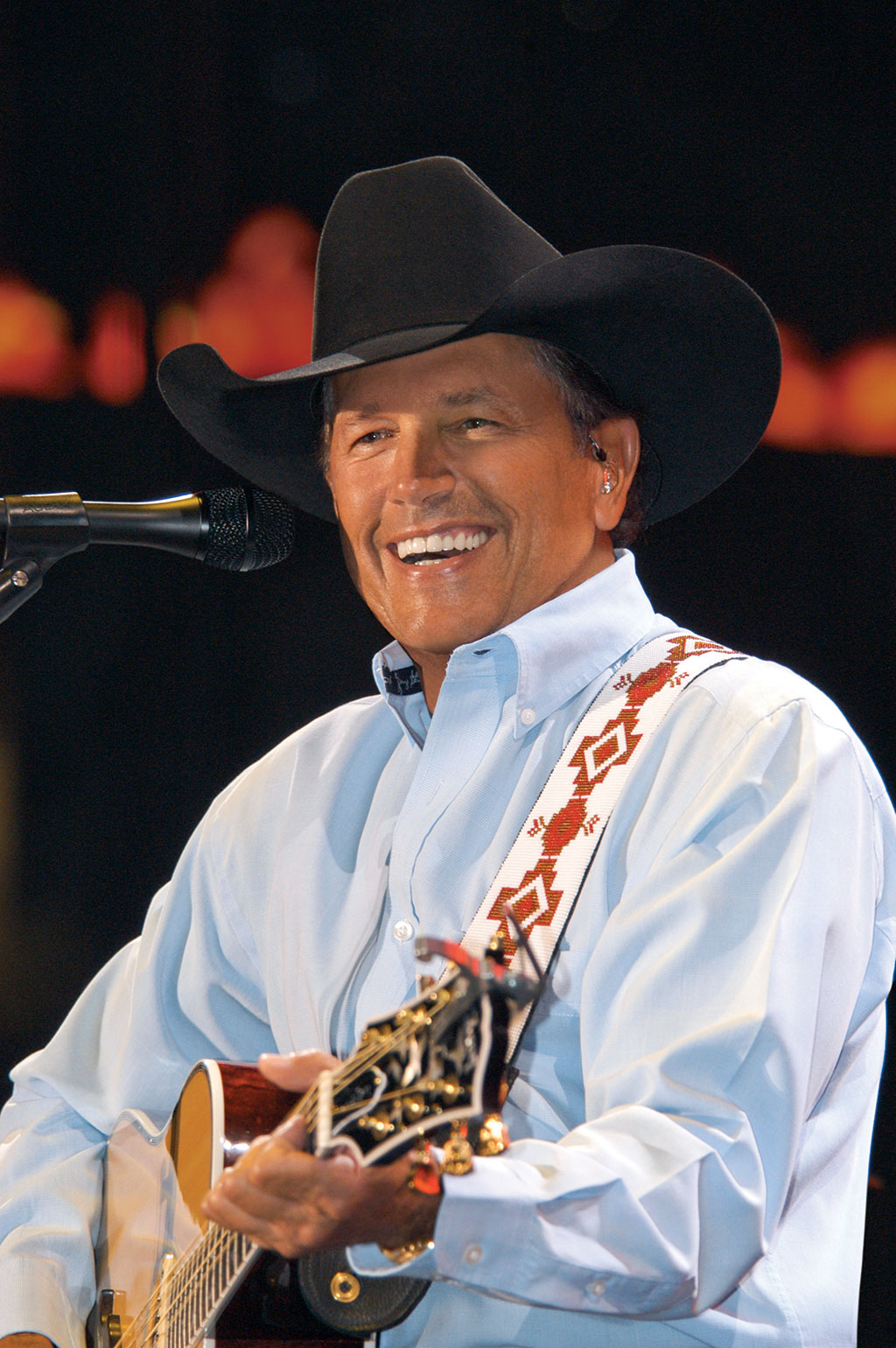 King Of Country Rules On George Strait The Cowboy Rides Away Live From Att Stadium on two rules of life