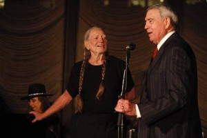 WILLIE NELSON DAN RATHER