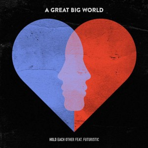a great big world hold on single cover of album