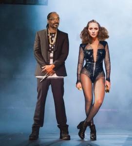 Rosalee with Snoop