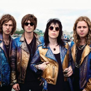 The Struts gold jackets
