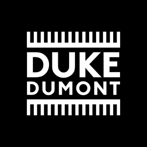 Duke Dumont Black n white logo