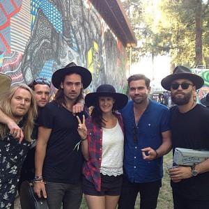 Grizfolk and Nicole at BottleRock Napa 2015