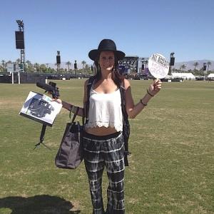 Nicole at Coachella 2015