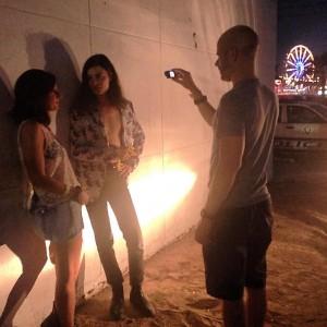 Nicole with BORNS at Life If Beautiful Vegas 2015