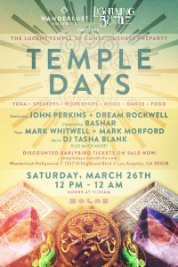 Temple Days 2016 Poster