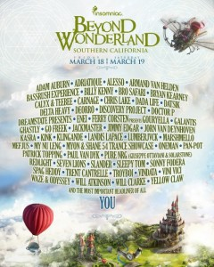 beyond_wonderland line up 2016